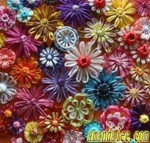 Bien dise/ñado patr/ón de flores de vida como remiendo del bordado de bricolaje ropa Parches etiquetas bordadas Cosa parches de tejido Distintivos del Purple Ropa-1pc