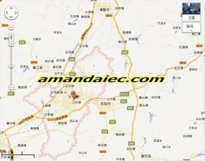 Carte Chine Yiwu.Carte De Google De Yiwu Chine